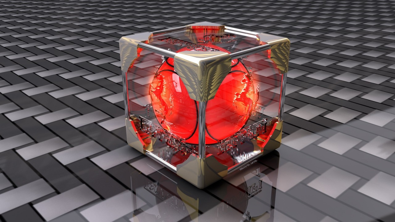cube fresh new hd wallpaper