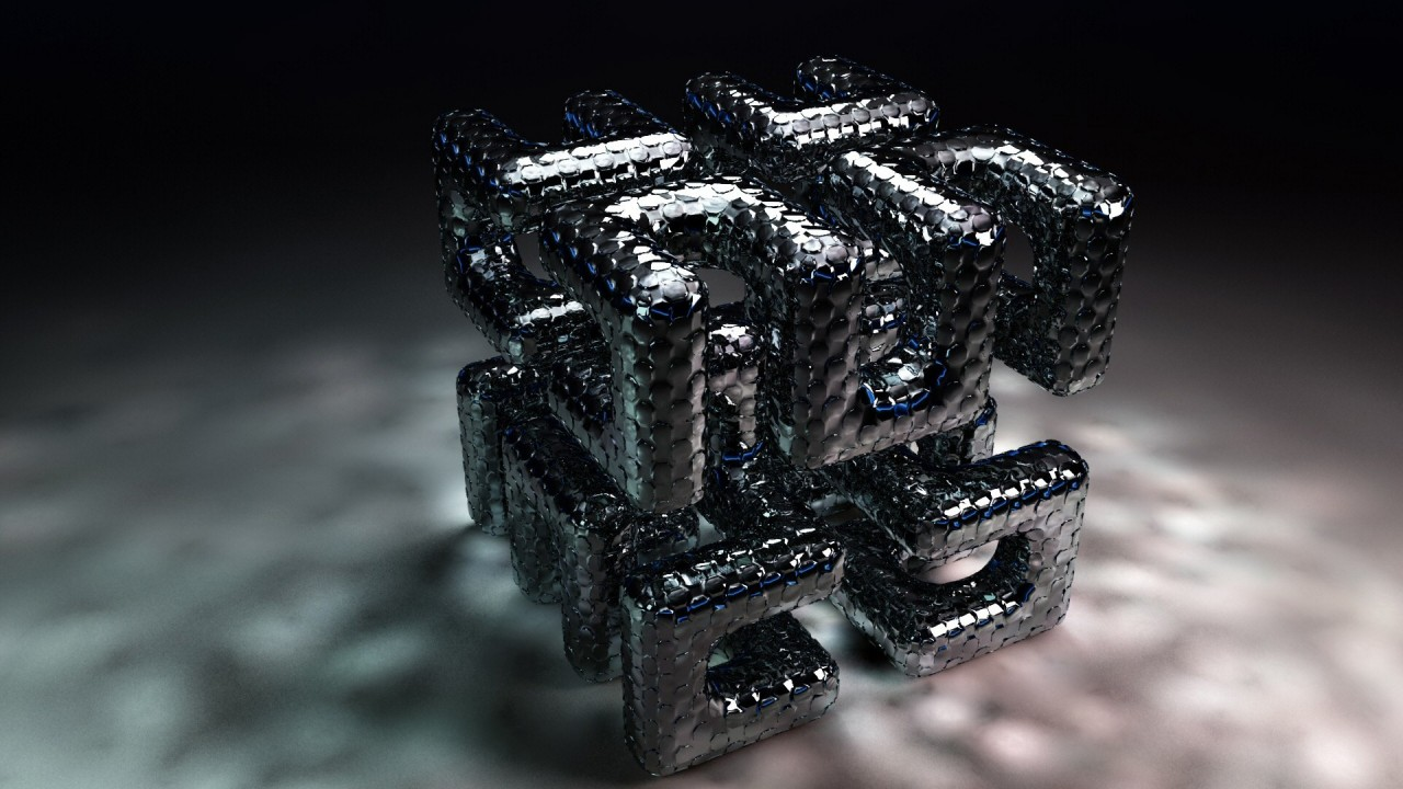 hd wallpaper 3d cube maze