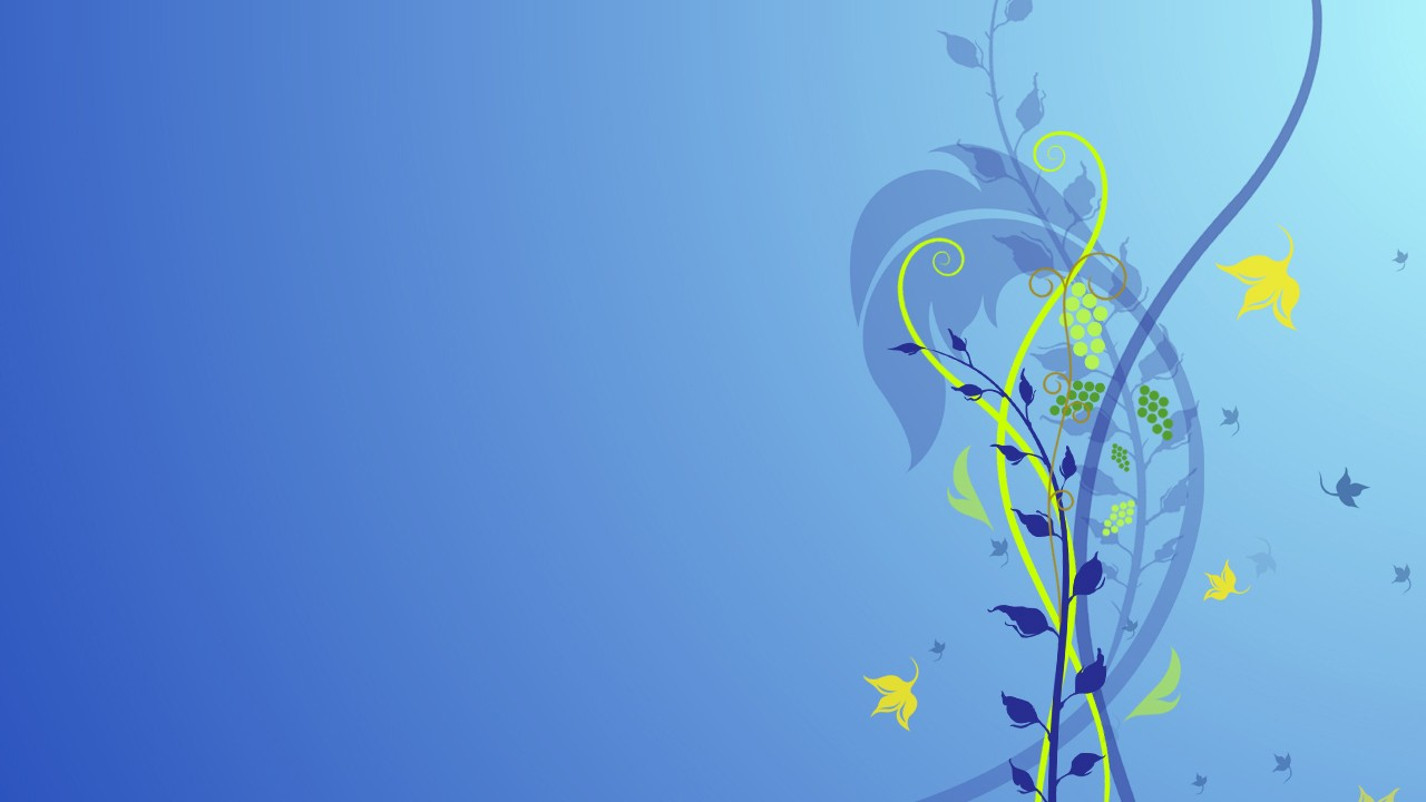 blue flower abstract normal