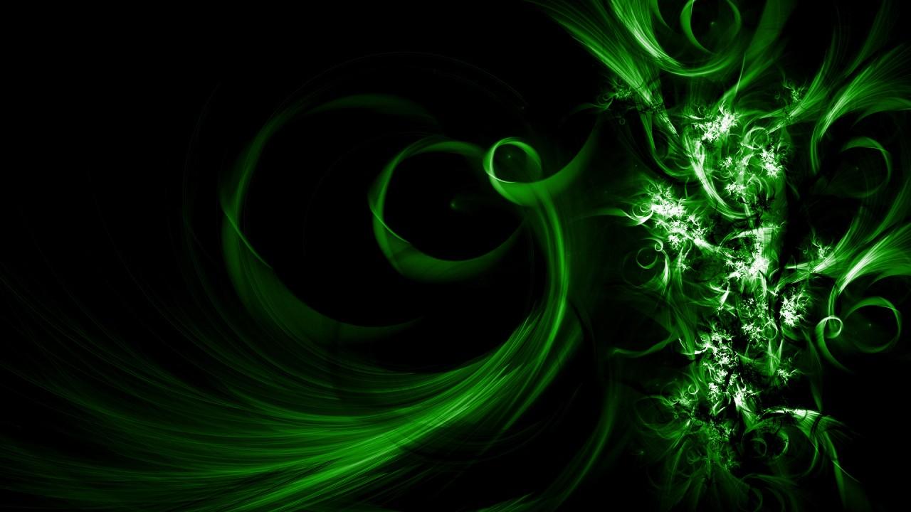 abstract green hd wallpaper