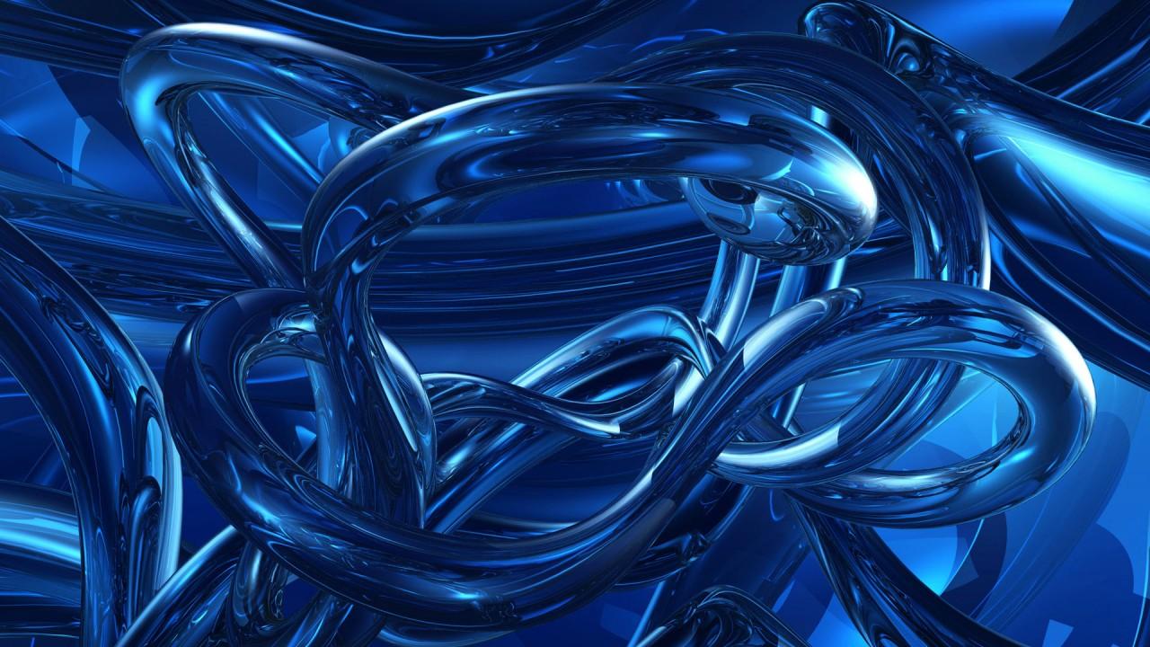 dark blue abstracts HD