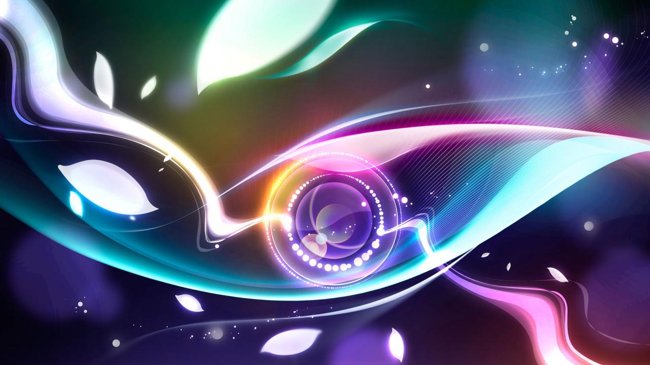digital abstract eye HD