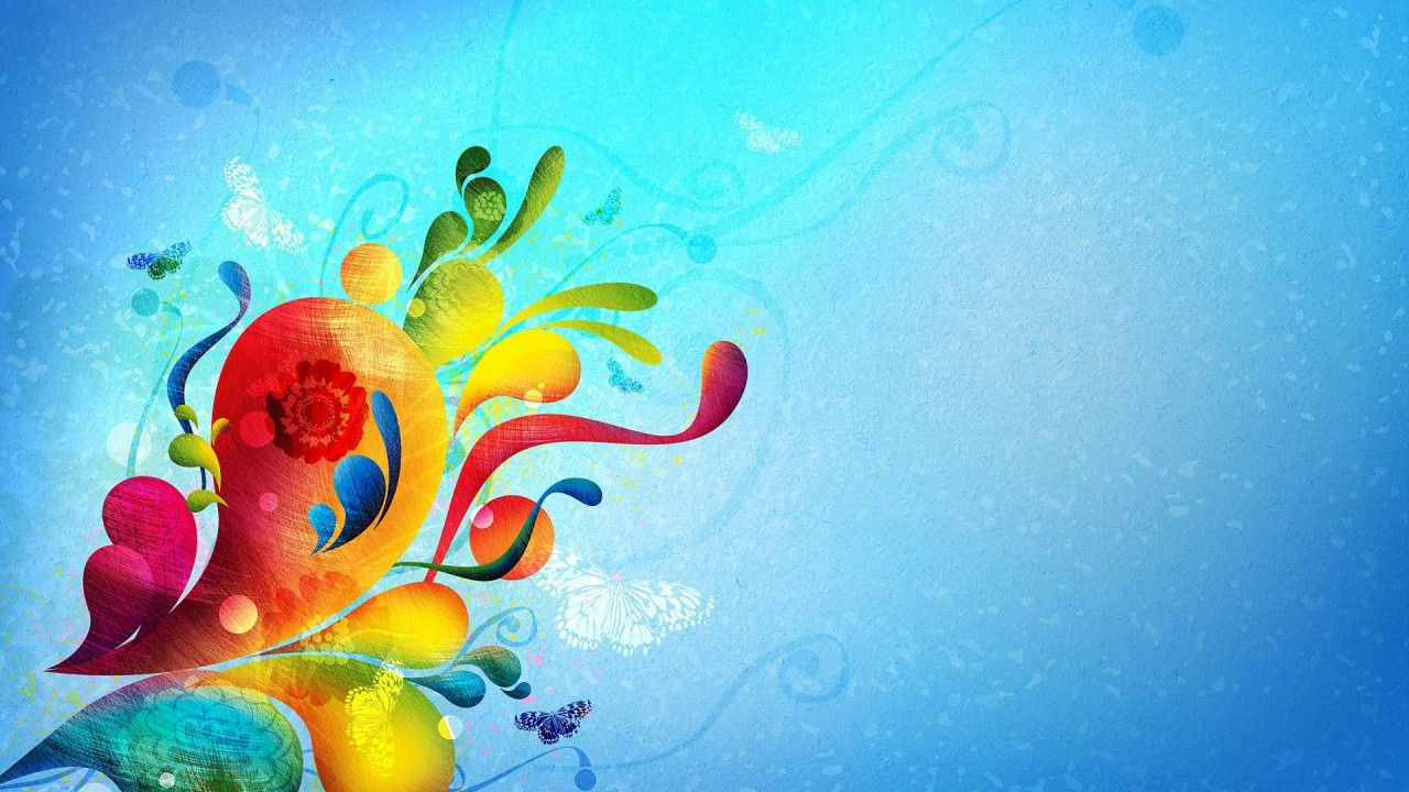 hd wallpaper abstract colors
