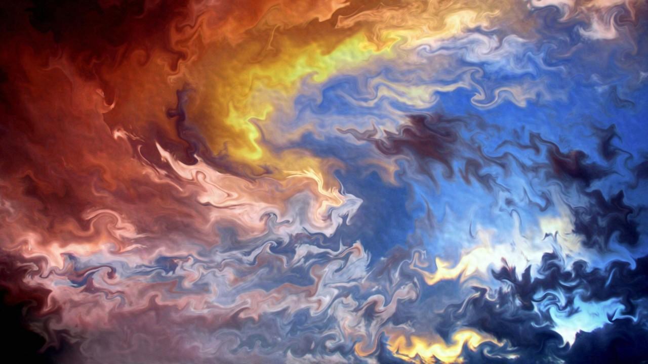 hd wallpaper multicolor abstract art