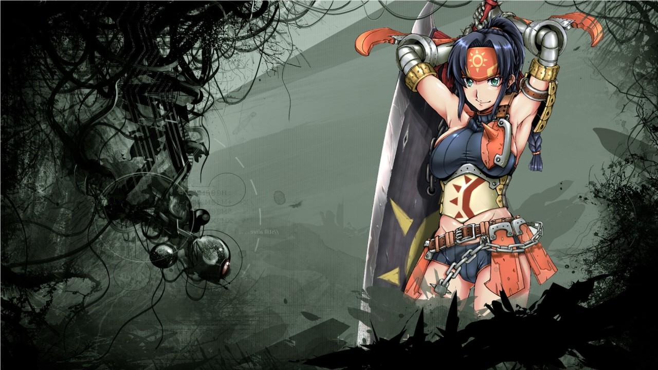girls anime virgo hd wallpaper