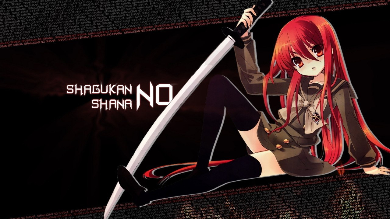 hd wallpaper  Shakugan No Shana Shana Anime Fresh New Hd Wallpaper