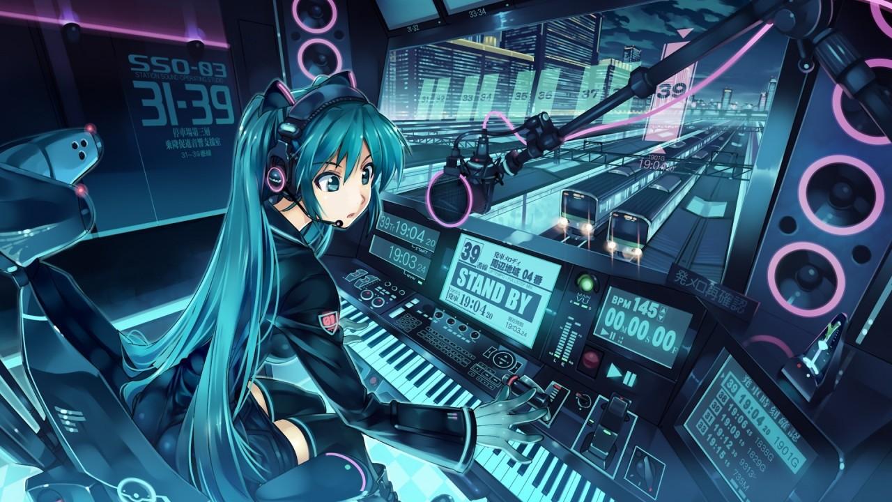 hd wallpapers anime girl