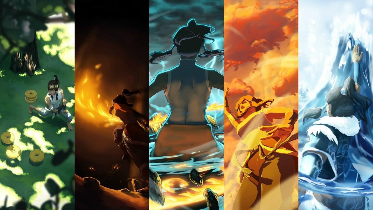 Korra the new Avatar