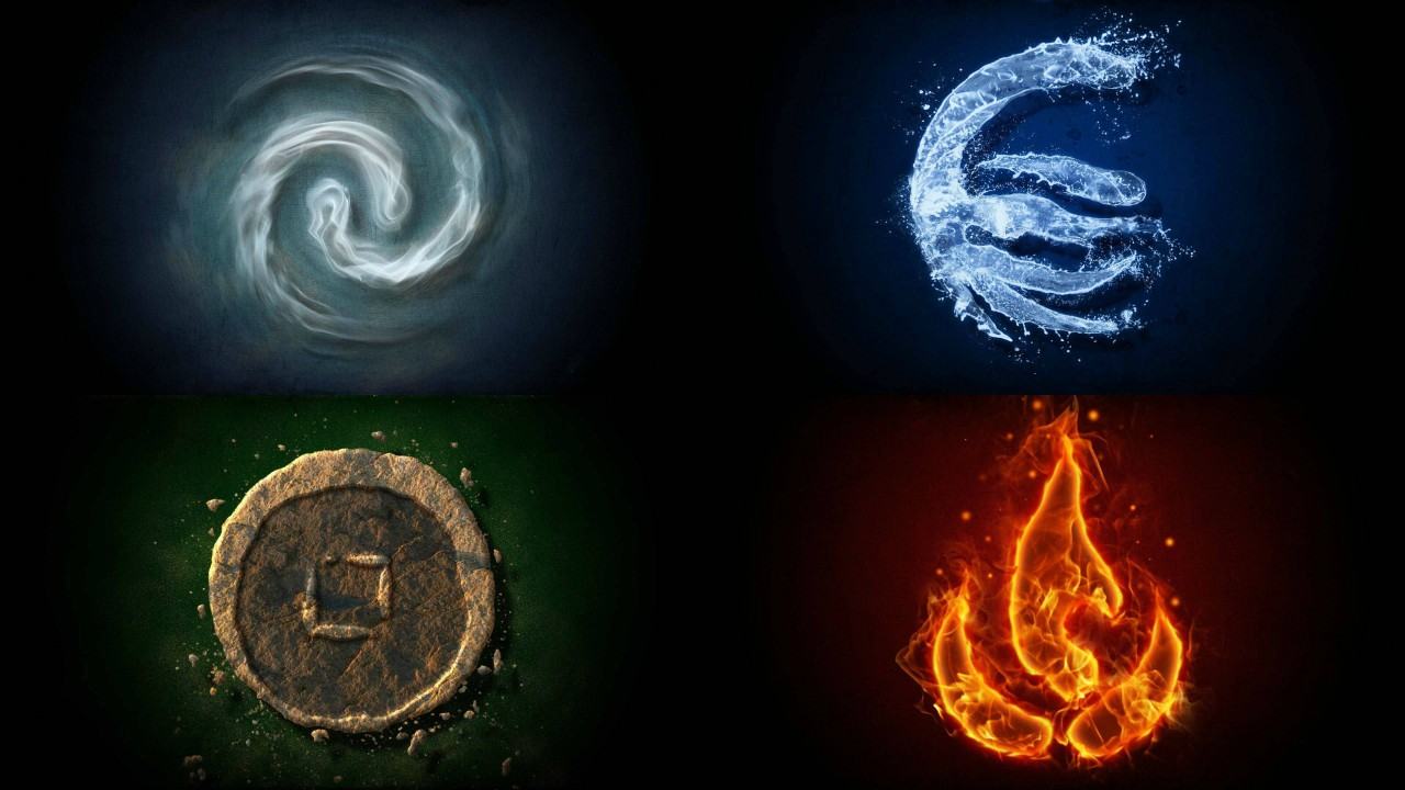 The four primary elements