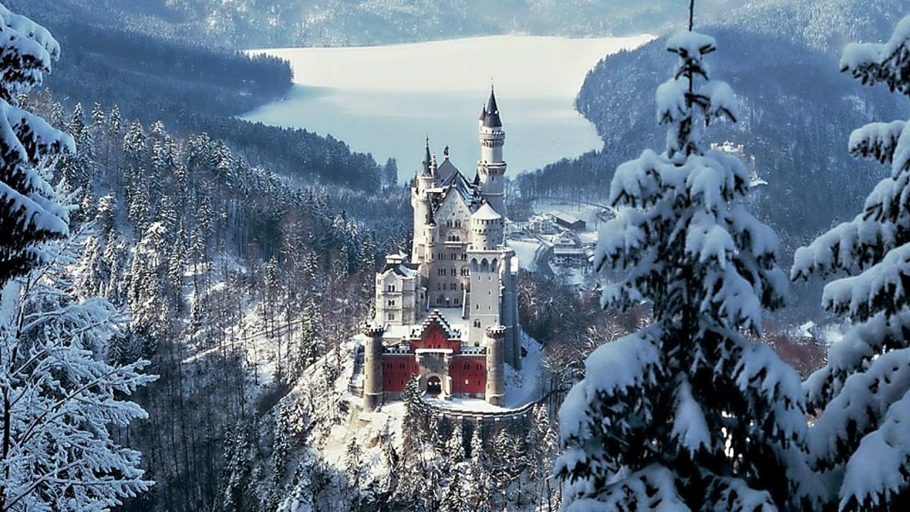 castle architecture hd wallpaper