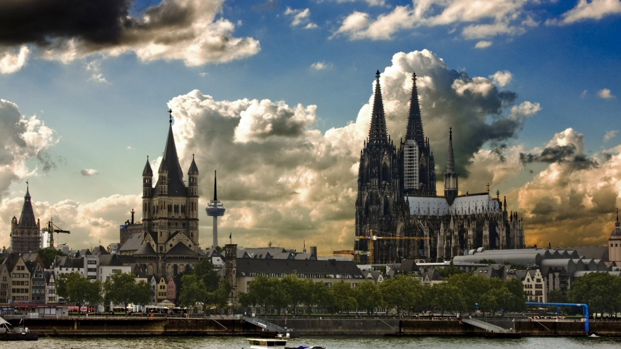 hd wallpaper germany cologne architecture