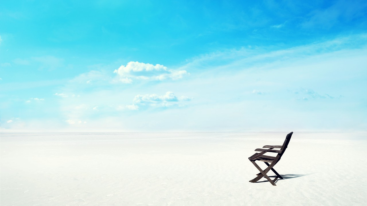 beach horizon wide