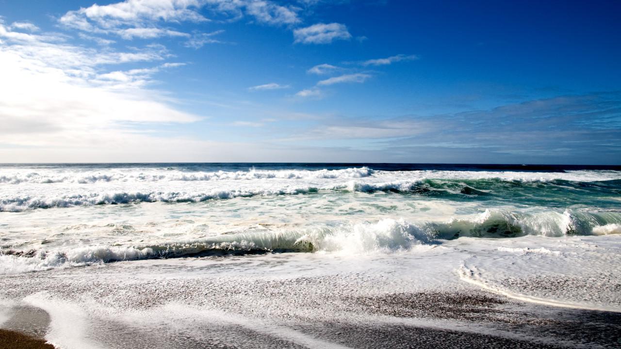 cool beach wide