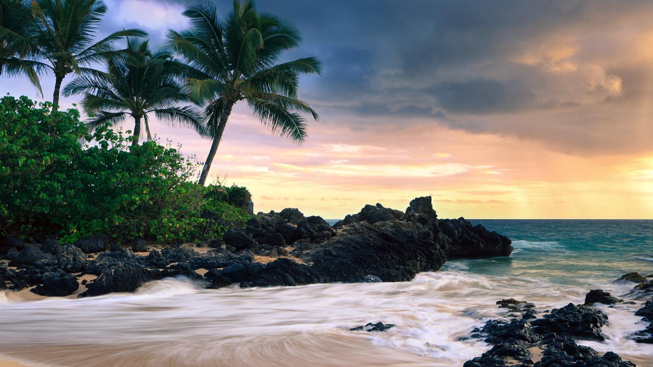 hawaii secret beache wide