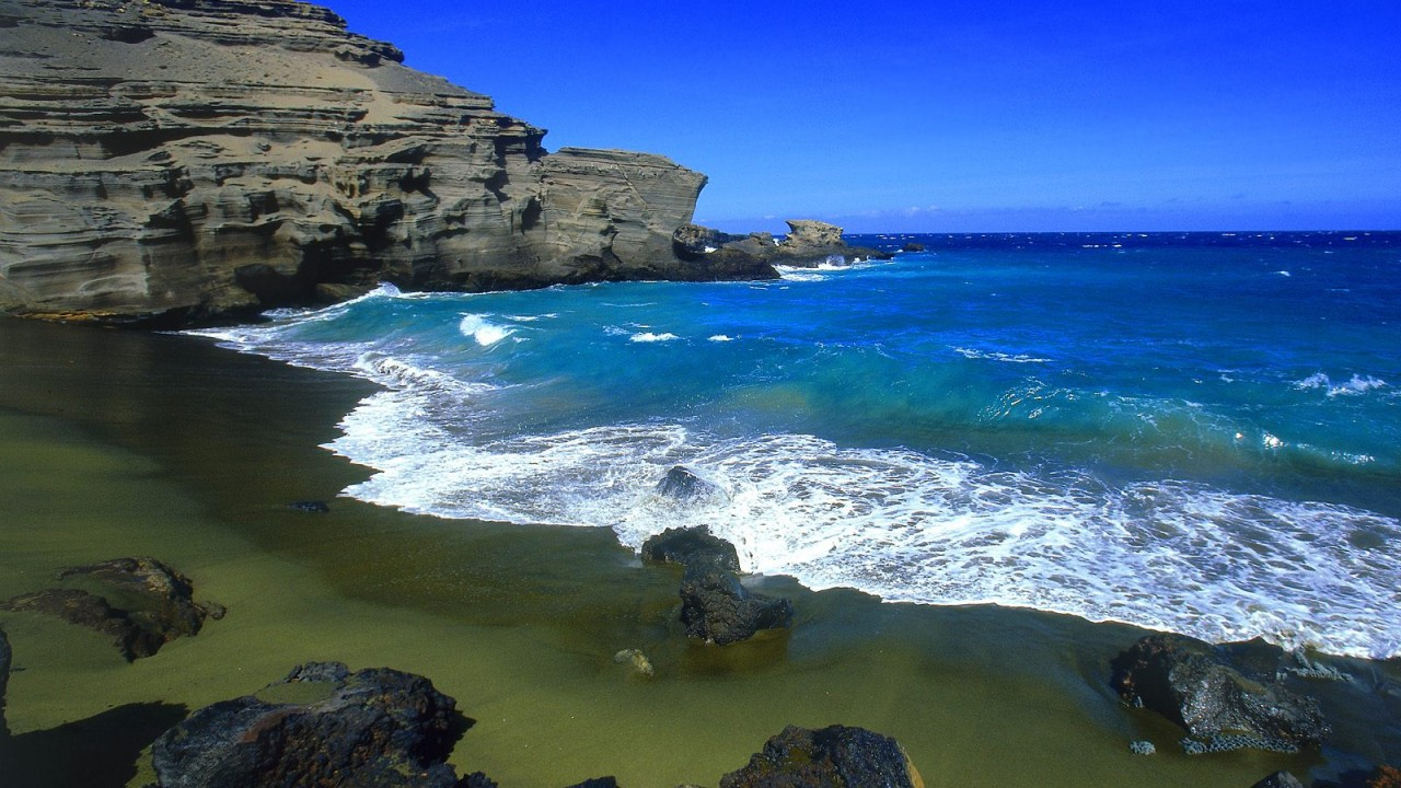 green beach big island normal