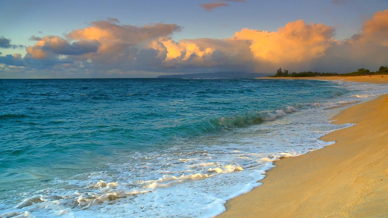 hawaii beach hd wallpaper