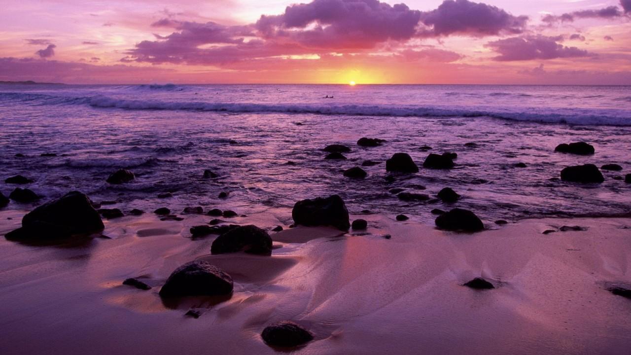 molokai shore hawaii normal
