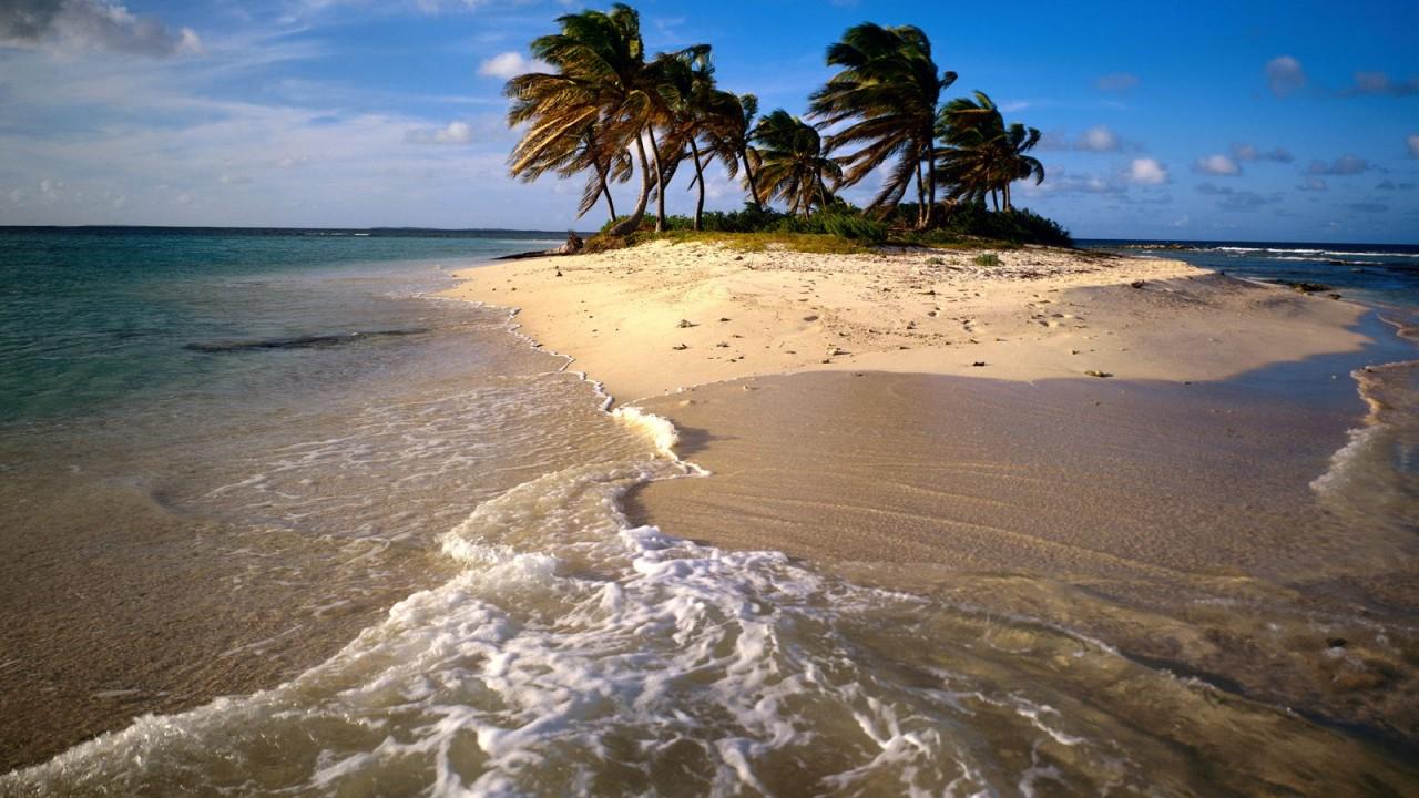 sandy island caribbean normal