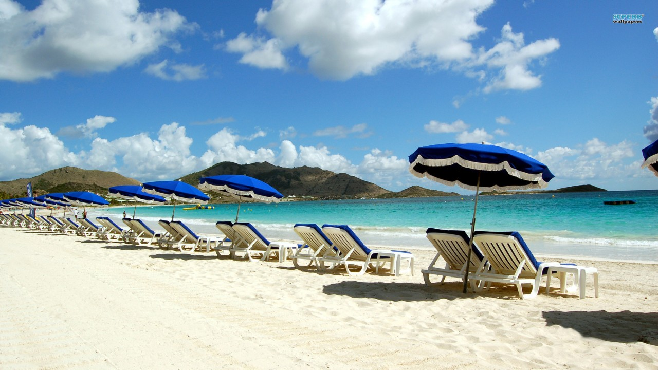 hd wallpaper orient bay beach st martin