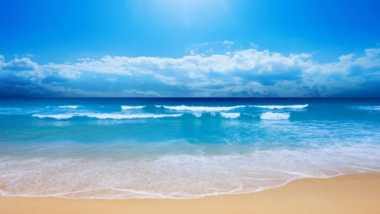 summer send beach hd wallpaper