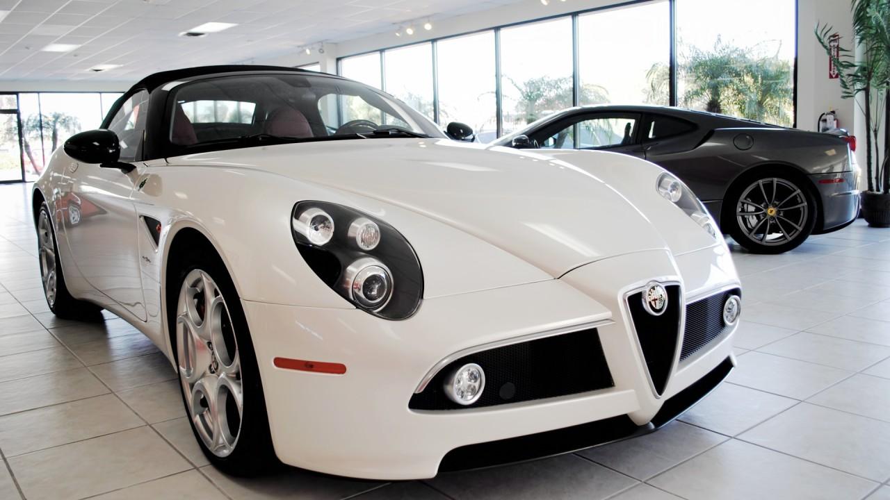 Alfa Romeo 8C Competizione Spyder