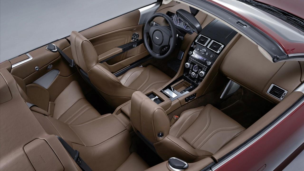 2010 aston martin dbs volante interior wide
