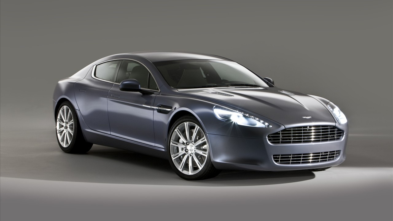 aston martin rapide car wide