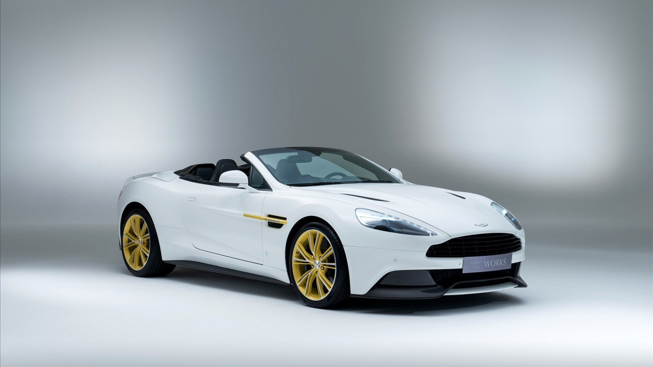 aston martin works 60th anniversary edition wide