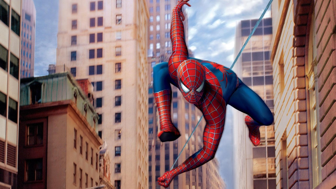 spiderman cartoon hd wallpaper