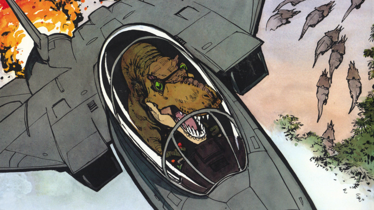 Lizard pilot