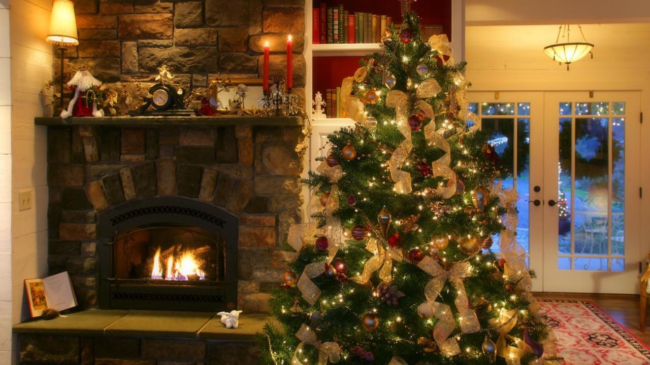 hd wallpaper christmasy