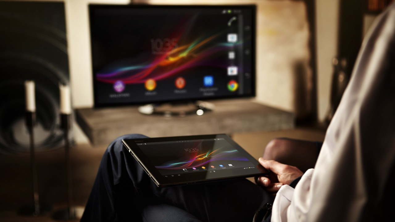 Tablet and smart Tv
