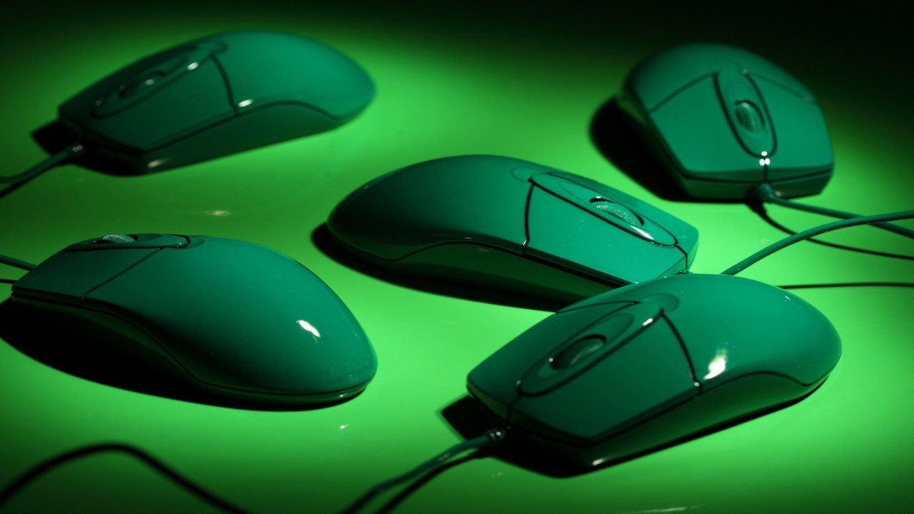 hd wallpaper mice green wire
