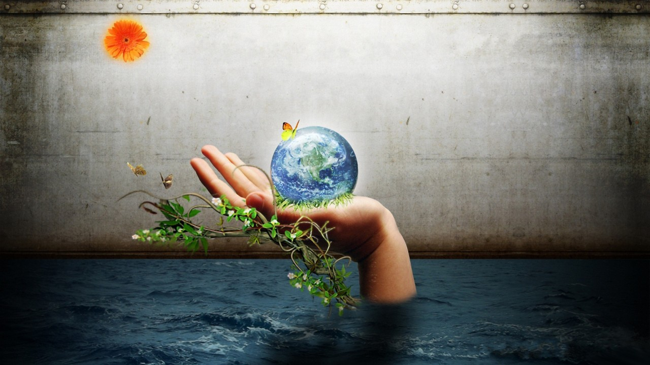 Earth in my hand