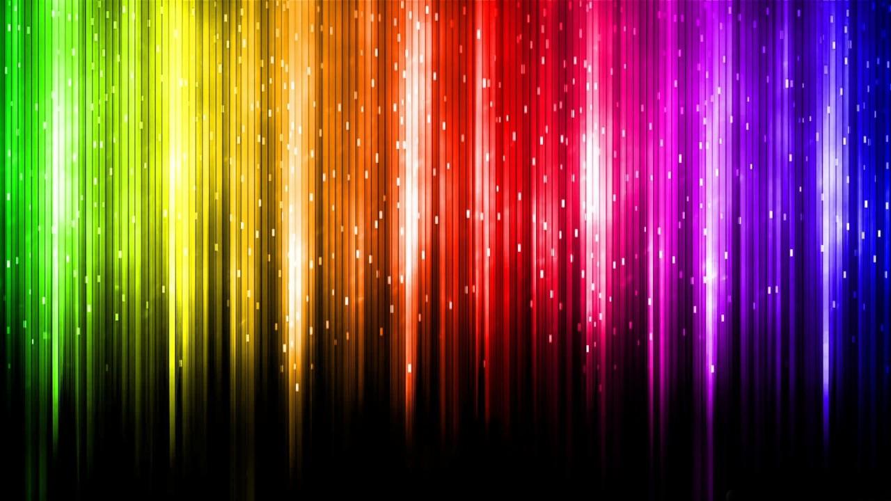 digital rainbow color creative hd wallpaper