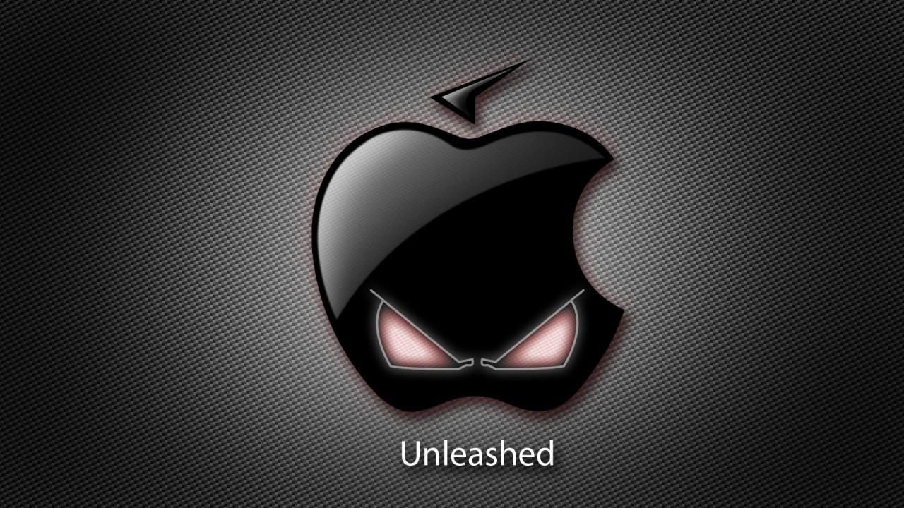 hd wallpaper apple evil creative
