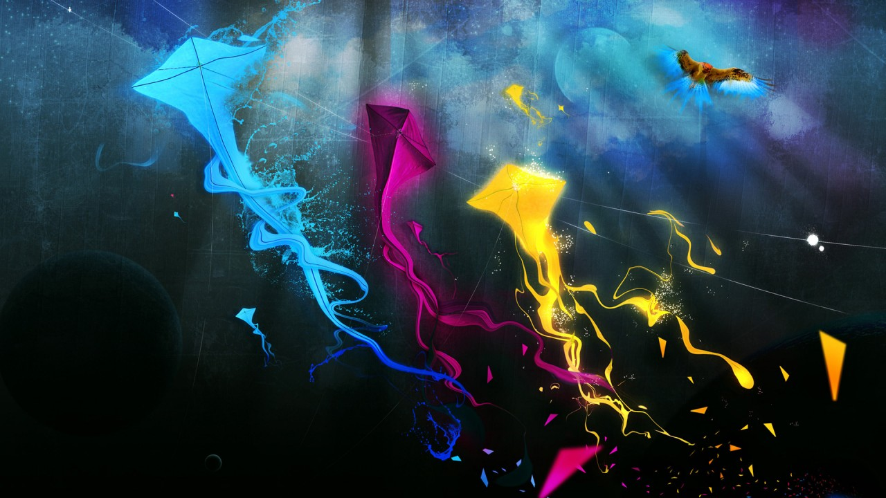 hd wallpaper colorful kites hd
