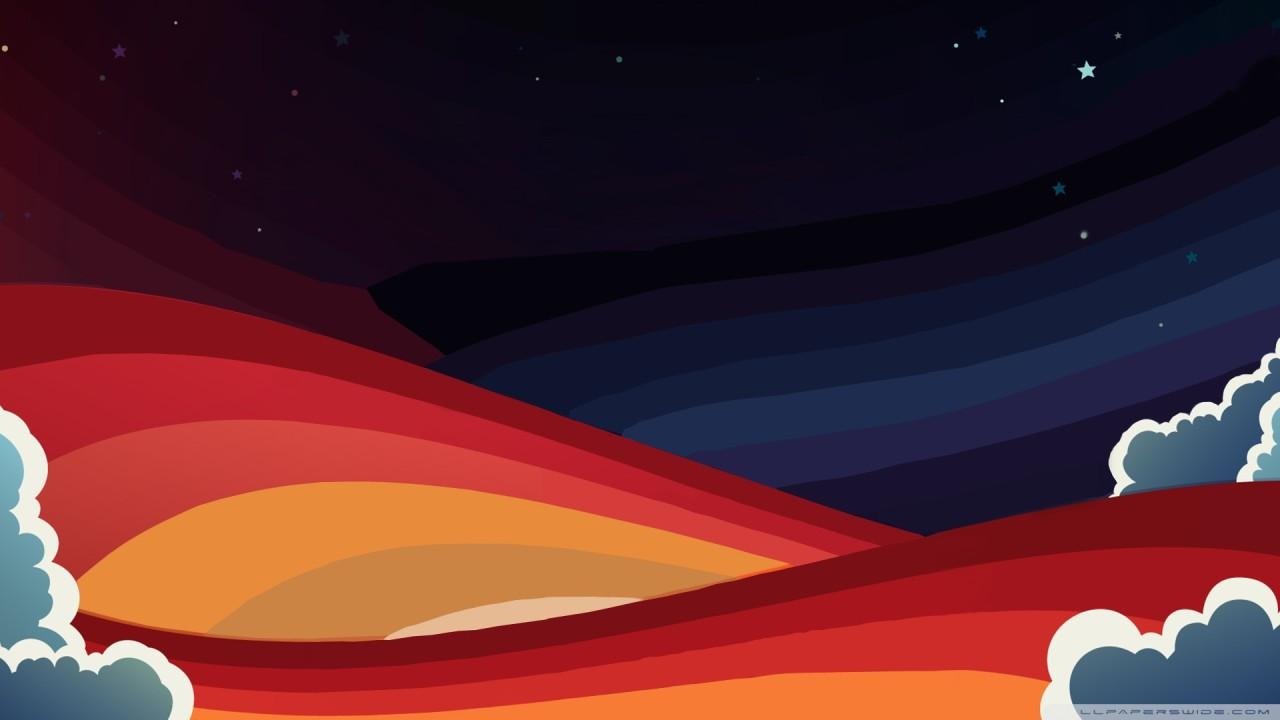 rainbow graphics creative hd wallpaper