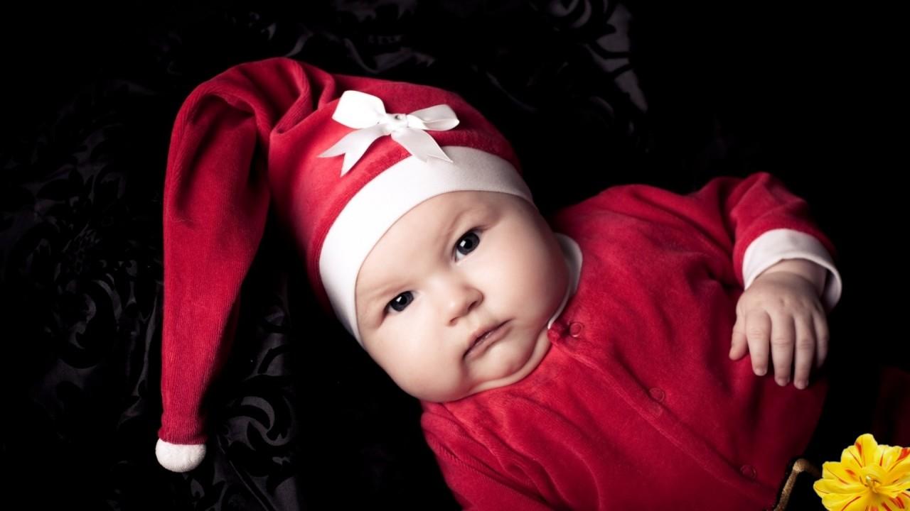 hd wallpaper baby cute red