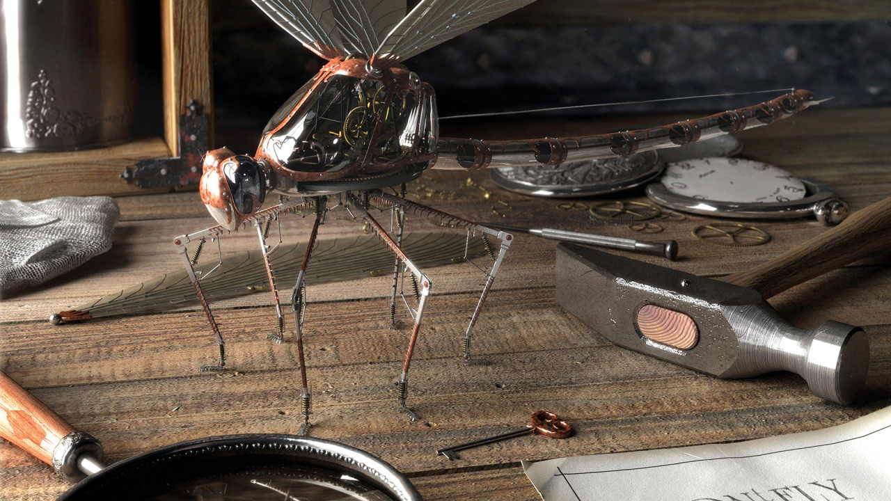 dragonfly robot