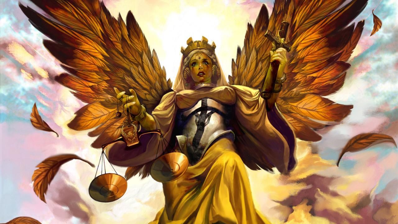 fantasy heavenly angel hd wallpaper