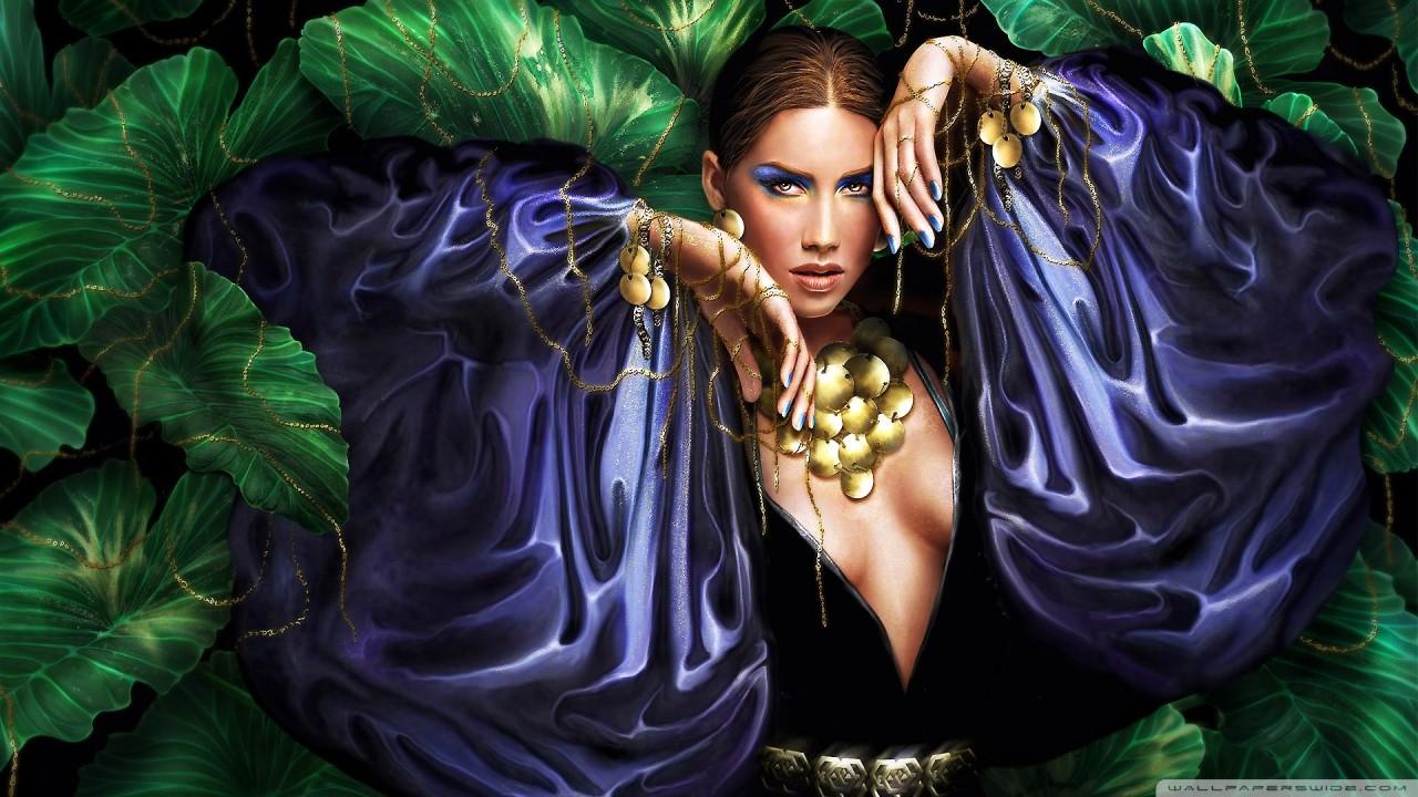 fantasy woman hd wallpaper