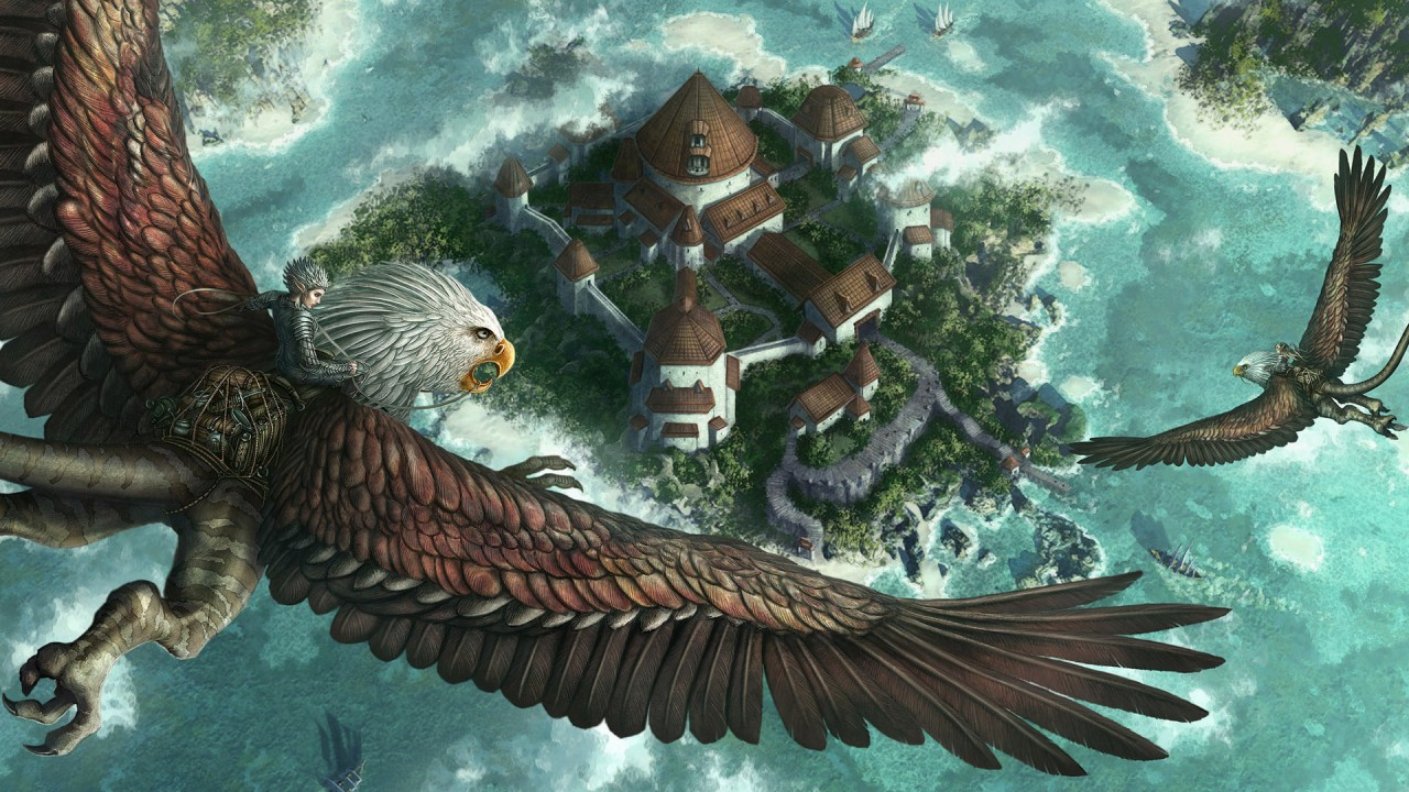hd wallpaper fantasy castle