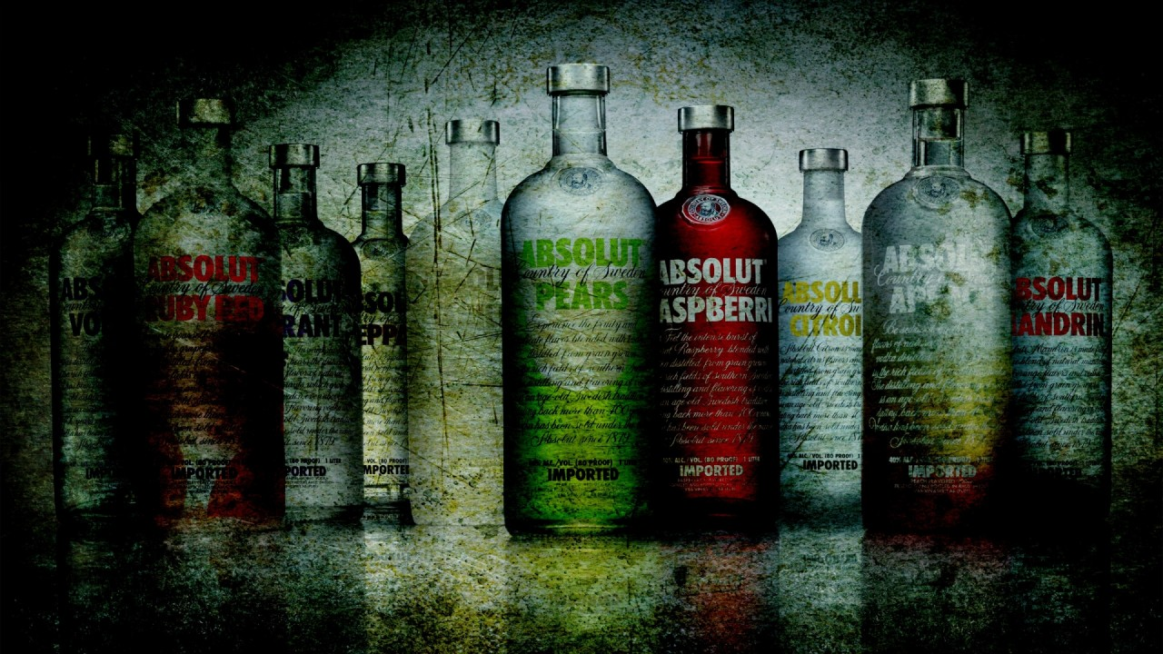 drink absolute vodka hd wallpaper