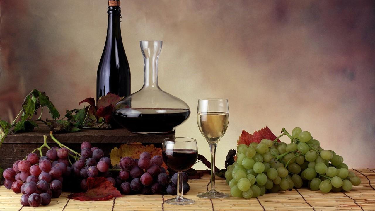 food grapes wine hd wallpaper