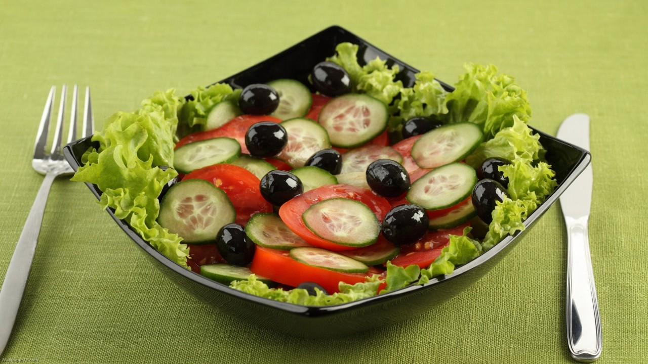 Fresh Salad 2 fast food hd wallpaper