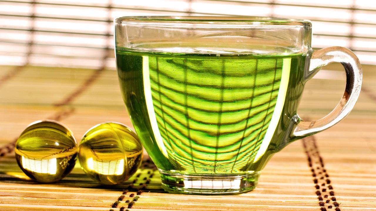 hd wallpaper green tea