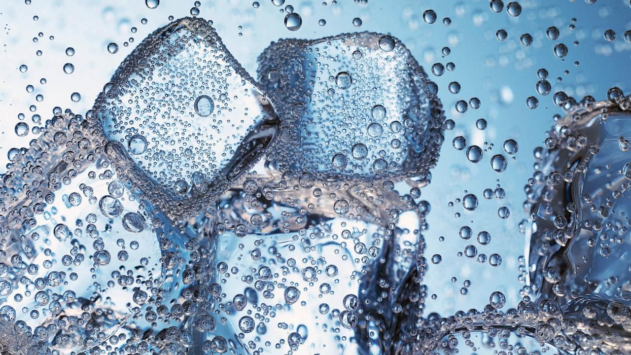 hd wallpaper ice block cool