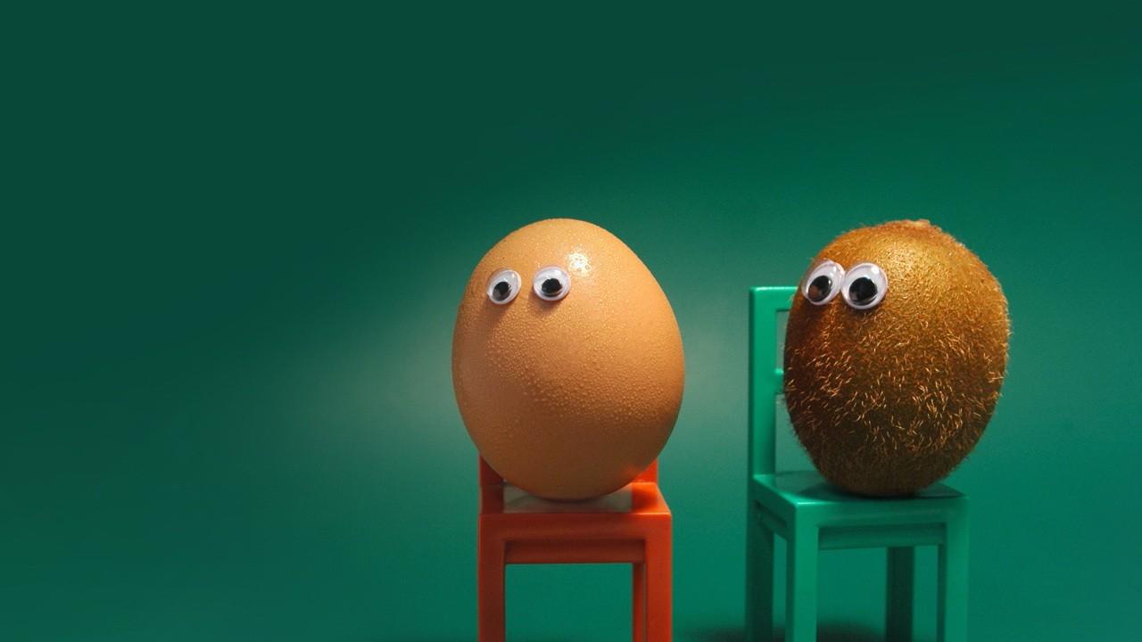 egg and kiwi