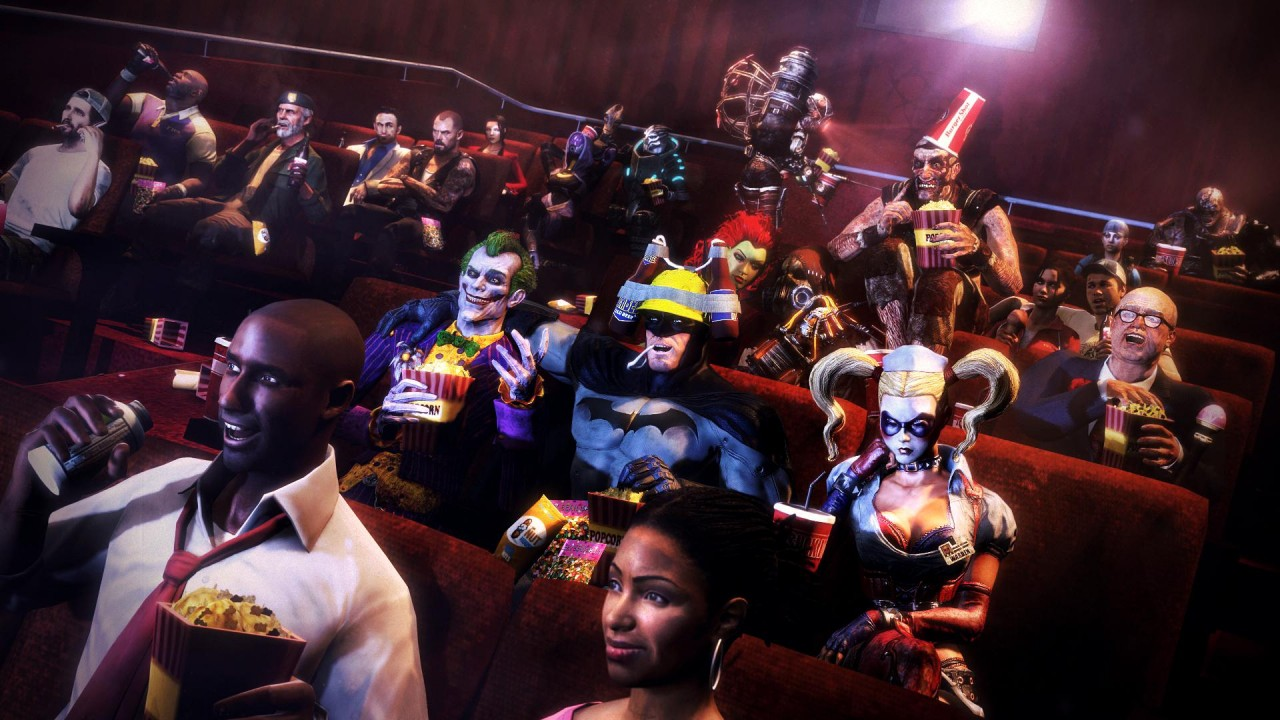 Cartoon characters in cinema